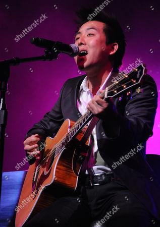 Editorial picture of David Choi in concert at the Las Vegas Hilton, Las Vegas, America - 22 Jul 2011