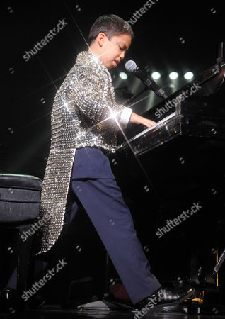 Editorial image of Ethan Bortnick performs at the Las Vegas Hilton, Las Vegas, America - 22 Jul 2011