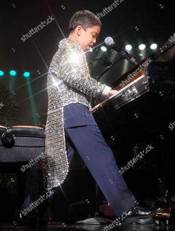 Editorial picture of Ethan Bortnick performs at the Las Vegas Hilton, Las Vegas, America - 22 Jul 2011