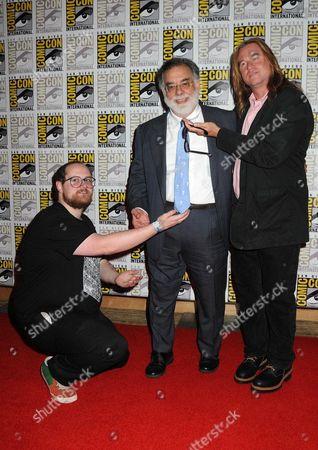 Dan Deacon, Francis Ford Coppola and Val Kilmer