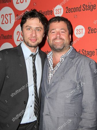 Zach Braff and Peter DuBois