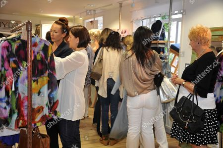 People shopping at Roger Saul's £10m Kilver Court designer shopping emporium