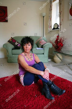 Editorial picture of Georgette Civil at home in Lincolnshire, Britain - 25 Jul 2011