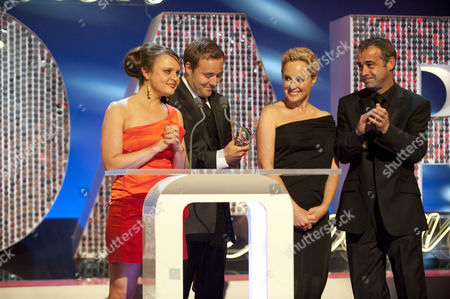 Alan Halsall, Michael Le Vell, Sally Dynevor and Vicky Binns