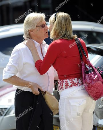 Editorial photo of Bill Roache and Emma Jesson, Granada Studios, Manchester, Britain - 26 Jul 2011