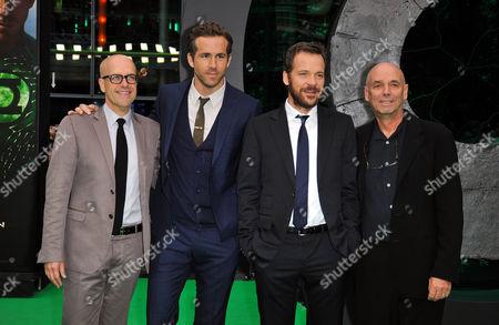 Donald de Line, Ryan Reynolds, Peter Sarsgaard and Martin Campbell