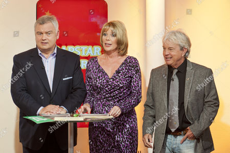 Eamonn Holmes and Ruth Langsford with Frazer Hines