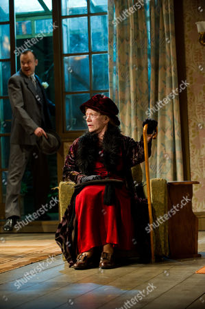 'This Happy Breed' - Sally Tatum as Queenie, Dean Lennox Kelly as Frank Gibbons and Rebecca Johnson as his wife