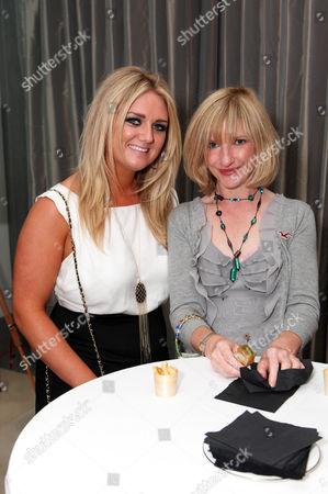Faye Mckeever and Jane Horrocks