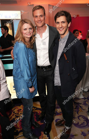 Stock Photo of Rebekah Staton, Darren Boyd and Mathew Baynton