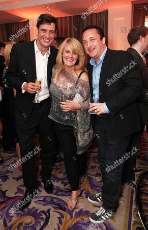 Adrian Bower, Sally Lindsay and Neil Fitzmaurice