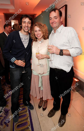 Stock Picture of Ralf Little, Michelle Terry and Craig Cash