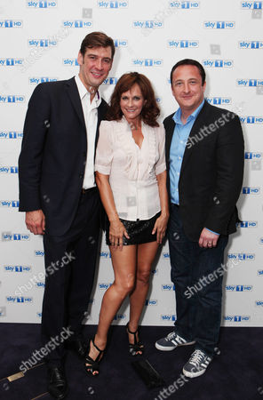 Stock Image of Adrian Bower, Sian Reeves and Neil Fitzmaurice