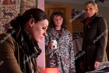 Suranne Jones as DC Rachel Bailey, Shannon Flynn as Taisie Scott and Lesley Sharp as DC Janet Scott.