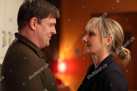 Tony Pitts as Adrian Scott and Lesley Sharp as DC Janet Scott.