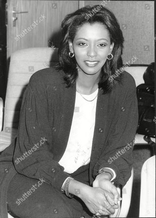News Reader Zeinab Badawi 1988.