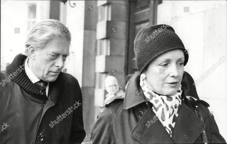 Lord And Lady Harewood At A Memorial Service For Cecil Beaton At St. Martins.