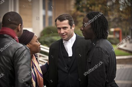 Angela Wynter as Liam's mother and James Purefoy as William Travers