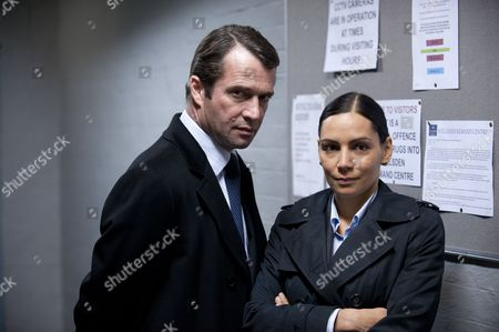 James Purefoy as William Travers and Sasha Behar as Natalie Chandra