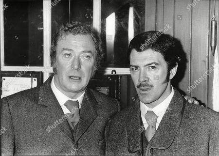 (l-r) Michael Caine And Lewis Collins.