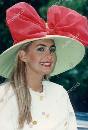 Clare Austin Little From Kensington Wears A Big Hat At Ascot
