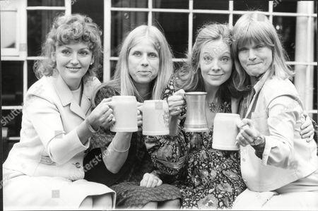 (l-r) Sarah Badel Angela Down Anna Calder-marshall And Janet Key - 1980