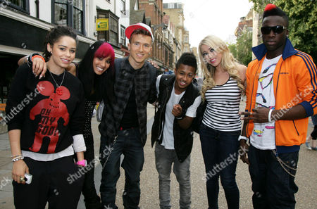 Editorial picture of Six-D promote new single 'Best Damn Night', Oxford, Britain - 28 Jul 2011