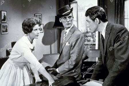 """Pete Murray, June Thorburn and Noel Trevearthan in """"Escort for Hire"""""""