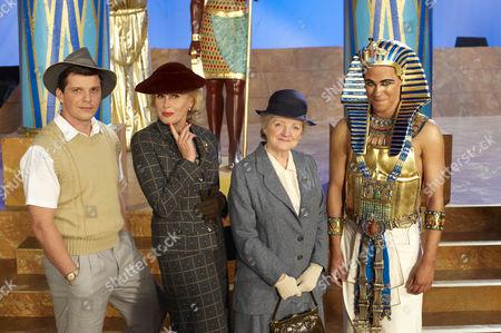 Nigel Harman as Jason Rudd, Joanna Lumley as Dolly Bantry, Julia McKenzie as Miss Marple and Will Young as Casey Croft.