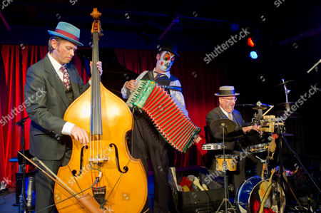 The Tiger Lillies in 'Soho Songs' at the Soho Theatre, London - Adrian Stout, Martyn Jacques and Adrian Huge