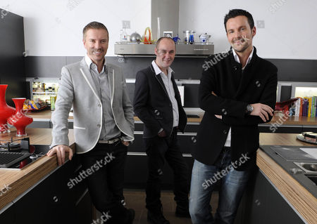 34 year old Jim Gilraine with designers Colin McAllister and Justin Ryan