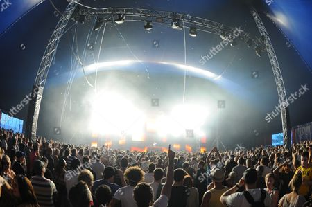 Editorial picture of 'Global Gathering' Music Festival, Stratford Upon Avon, Britain - 30 Jul 2011