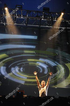 Stock Image of DJ Eddie Halliwell