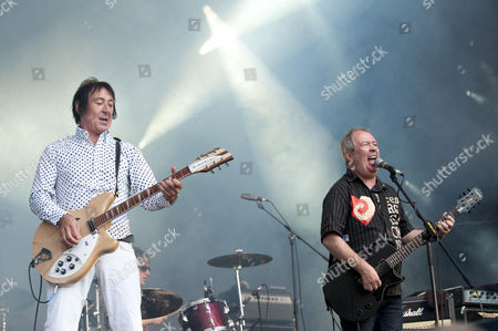 The Buzzcocks - Steve Diggle and Pete Shelley