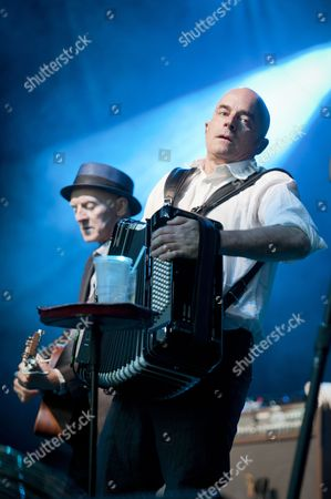 Stock Photo of The Pogues - James Fearnley