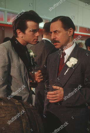 Simon O'Brien as Vince and Barrie Rutter as Mr. Maskell