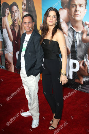 Sandra Bullock and Jonathon Komack Martin
