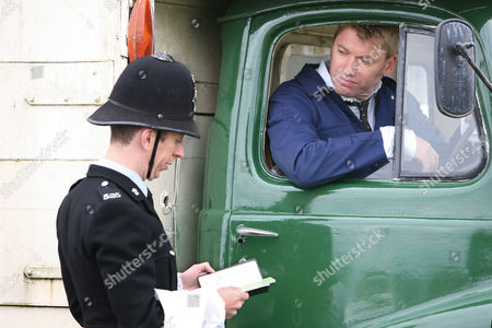 PC Geoff Younger [Steven Blakeley] and Alan [Stephen Beckett].