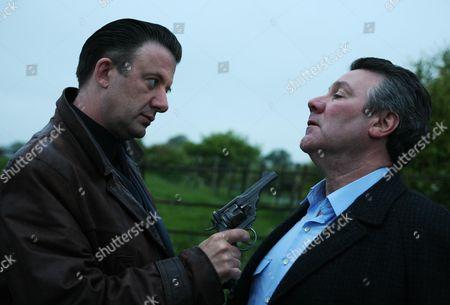 Travis (Jay Villiers) and  Sgt George Miller (John Duttine)