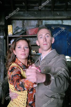Dawn Bellamy (Nikki Sanderson) and PC Geoff Younger (Steven Blakeley)