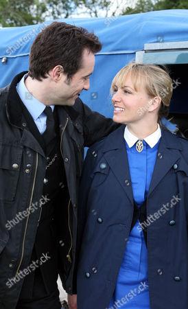 Carol Cassidy(Lisa Kay) and PC Joe Mason (Joe McFadden