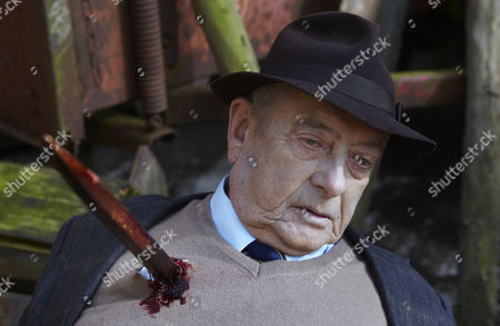 Derek Fowlds  as Oscar Blaketon impaled