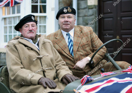 Field Marshall Monty [Aiden Pickering] and David [David Lonsdale]