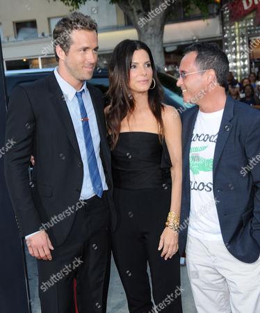 Ryan Reynolds, Sandra Bullock, Jonathon Komack Martin
