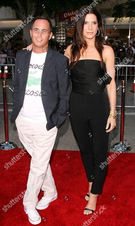 Stock Photo of Jonathon Komack Martin, Sandra Bullock