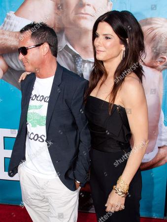 Stock Picture of Jonathon Komack Martin and Sandra Bullock