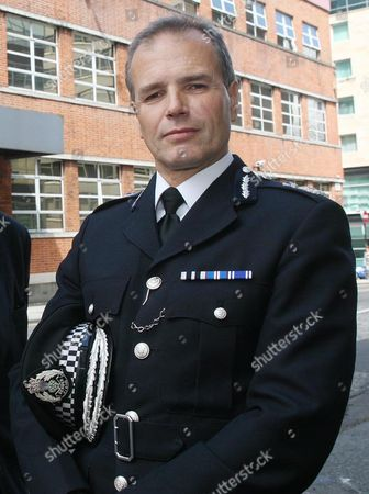 Chief Constable Steve House at a recent press conference in Glasgow