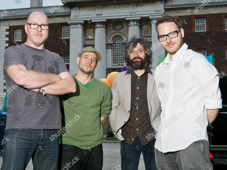 Turin Brakes - Rob Allum, Gale Paridjanian, Eddy Myers and Olly Knights
