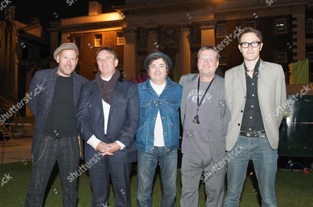 Squeeze - Simon Hanson, Chris Difford, John Bentley, Glenn Tilbrook, Stephen Large