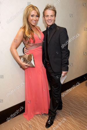 Lauren Goodger and Julian Bennett